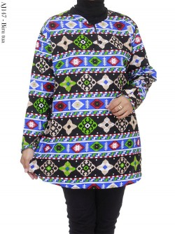 AJ147 Atasan Jumbo Katun Batik