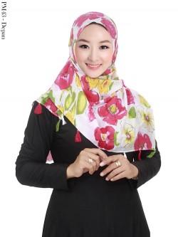 PM43 Pashmina Baby Silk Motif