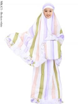 MKA75 Mukena Anak Katun Jepang