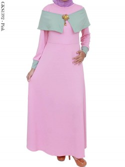 GKS1392 Gamis Misby Sabrina