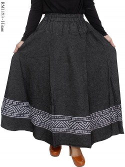 RM1193 Rok Jeans Klok List Batik