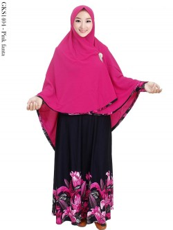 GKS1404 Gamis Syar'i Misby Hijab Bubble Pop