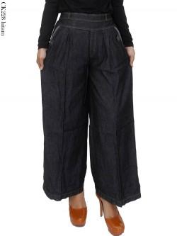 CK228 Celana Kulot Jeans Polos