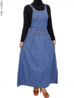 GSJ454 Overall Maxi Jeans