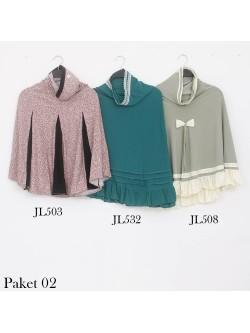 PJ02 Paket Hemat Jilbab Langsung Jersey