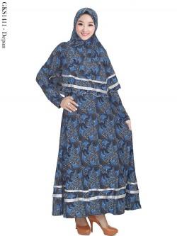GKS1411 Gamis Syar'i Jersey Batik