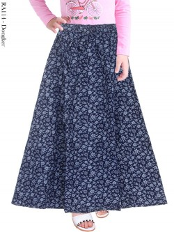 RA114 Rok Jeans Payung Anak