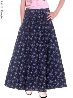 RA113 Rok Jeans Payung Anak