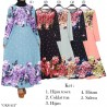 GKS1412 Gamis Jersey Misby Motif