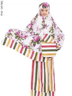 MKA80 Mukena Anak Katun Jepang