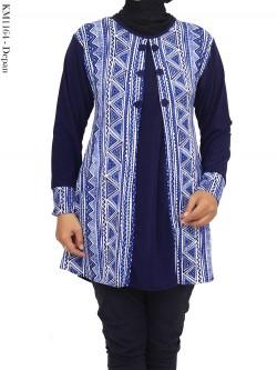 KM1164 Kaos Jersey Batik