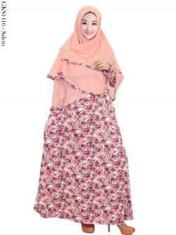 GKS1416 Gamis Syar'i Jersey Hijab Ceruti