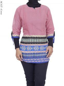 AC457 Atasan Katun Batik Songket