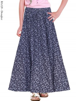 RA120 Rok Jeans Payung Anak