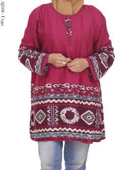 AJ168 Atasan Jumbo Katun Rayon Batik
