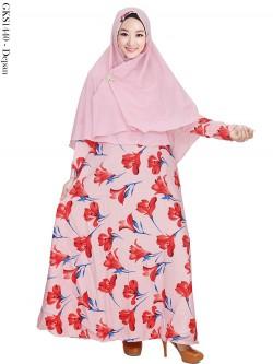 GKS1440 Gamis Syar'i Baloteli Hijab Crepe