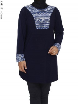 KM1171 Kaos Jersey Batik