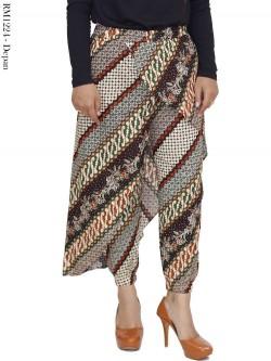 RM1224 Rok Celana Jogger Batik