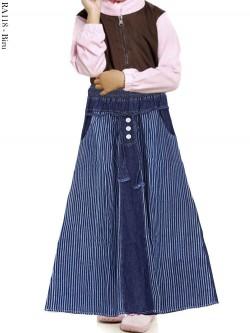 RA118 Rok Jeans Anak Salur