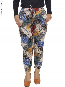 CA404 Jogger Pants Katun Stretch Batik