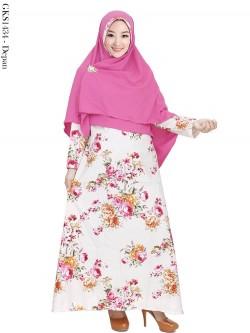 GKS1434 Gamis Syar'i Balotelly Hijab Crepe