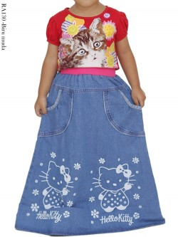 RA130 Rok Jeans Anak Hello Kitty