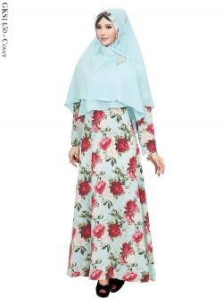 GKS1450 Gamis Syar'i Balotelly Hijab Crepe