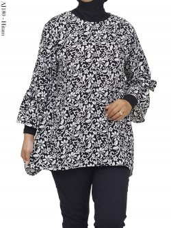 AJ180 Blus Jumbo Crepe Batik