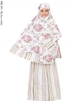MKA83 Mukena Anak Katun Jepang 3-8th