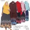 GKS1460 Gamis Syar'i Misby Hijab Cardi