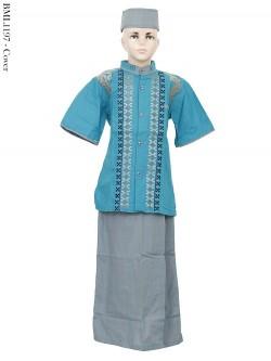 BML1197 (7-12) Baju Koko Anak Celana Sarung