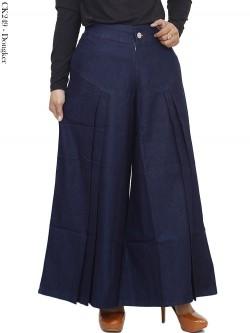 CK249 Celana Kulot Soft Jeans Rempel