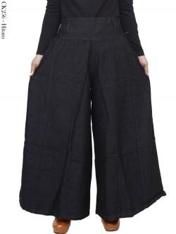 CK256 Celana Kulot Jumbo Jeans Polos