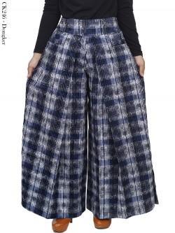 CK246 Celana Kulot Soft Jeans Import
