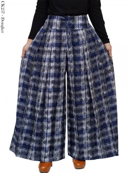 CK257 Celana Kulot Soft Jeans Import