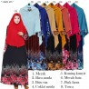 GKS1466 Gamis Syar'i Misby Hijab Cardi