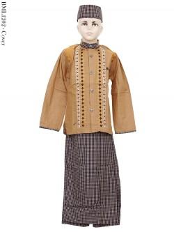 BML1202 (4-6) Baju Koko Anak Celana Sarung