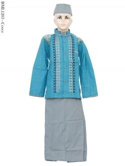 BML1203 (7-12) Baju Koko Anak Celana Sarung