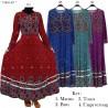 GKS1467 Gamis Jersey Payung Batik Pita