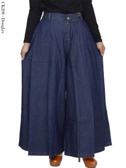 CK208 Celana Kulot Jumbo Jeans