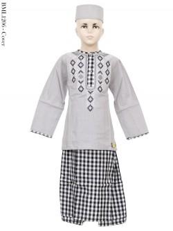 BML1206 (4-6) Baju Koko Anak Celana Sarung
