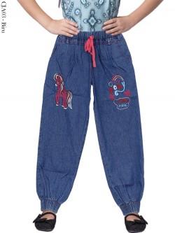 CJA03 Celana Jogger Jeans Anak Little Pony