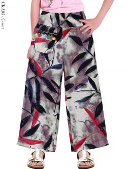 CKA05 Celana Kulot Anak Katun Linen