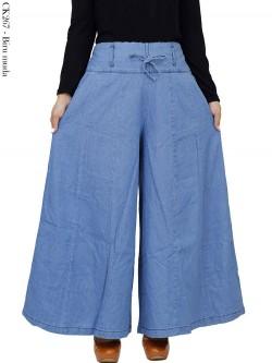 CK267 Celana Kulot rok jeans