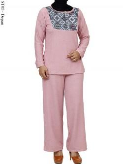 ST03 Setelan Spandek Babat Batik