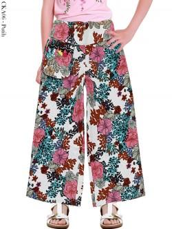 CKA06 Celana Kulot Anak Katun Linen