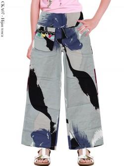 CKA07 Celana Kulot Anak Katun Linen