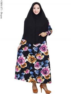 GKS1475 Gamis Syar'i Misby Hijab Cardi