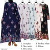 GKS1476 Gamis Jersey Misby Motif