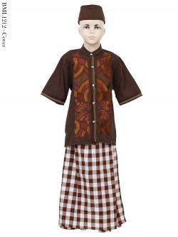 BML1212 (4-6) Baju Koko Anak Celana Sarung